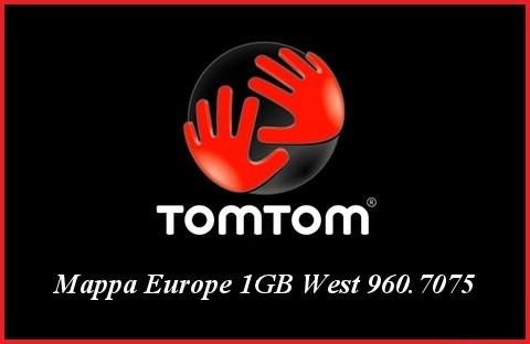 TomTom - Mappa Europe 1GB West 960.7075
