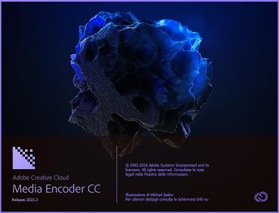 Adobe Media Encoder CC 2015.3 v10.3.0.185 64 Bit - Ita