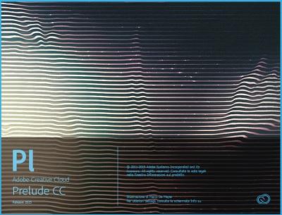 Adobe Prelude CC 2015 v4.1 64 Bit - Ita
