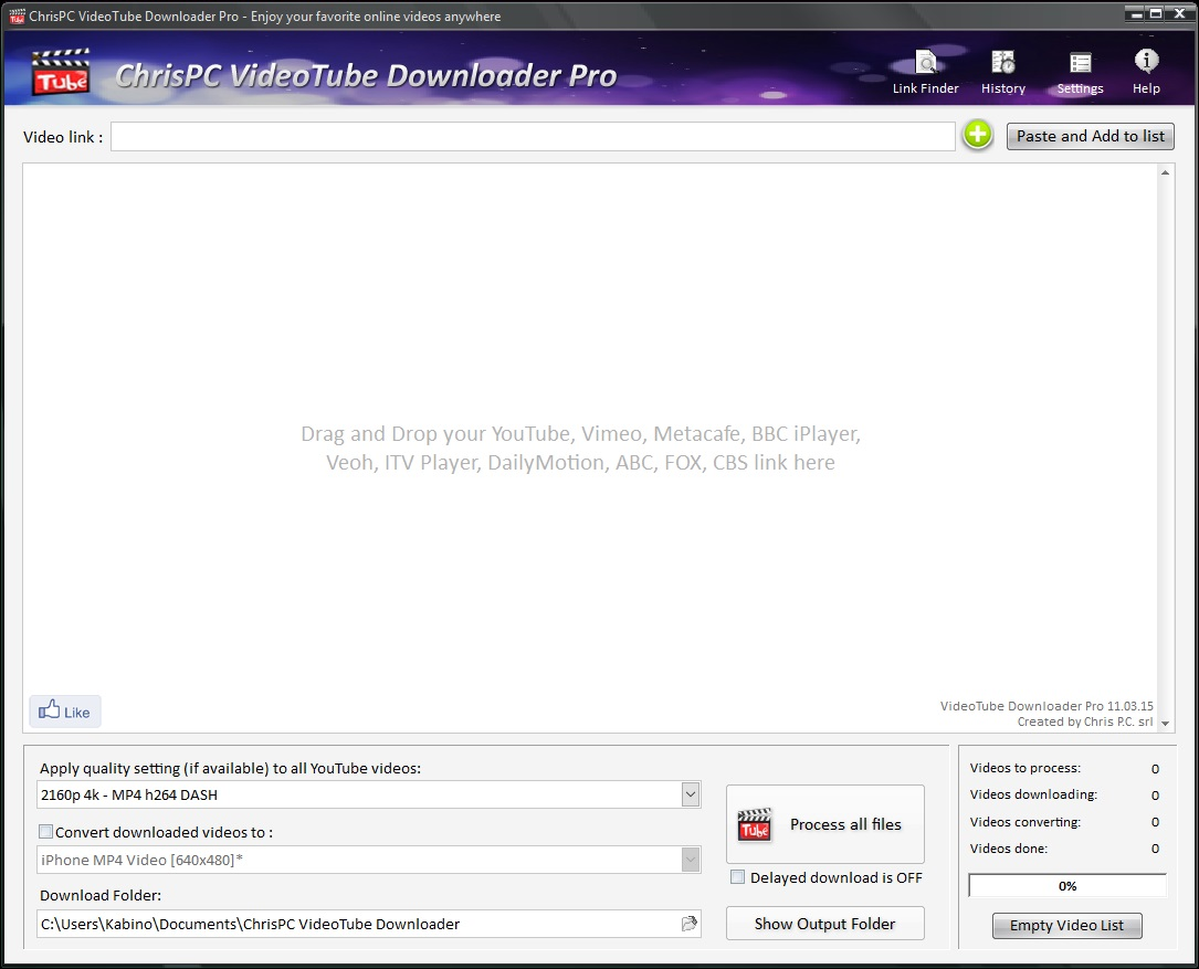 ChrisPC VideoTube Downloader Pro v11.10.10 - Eng