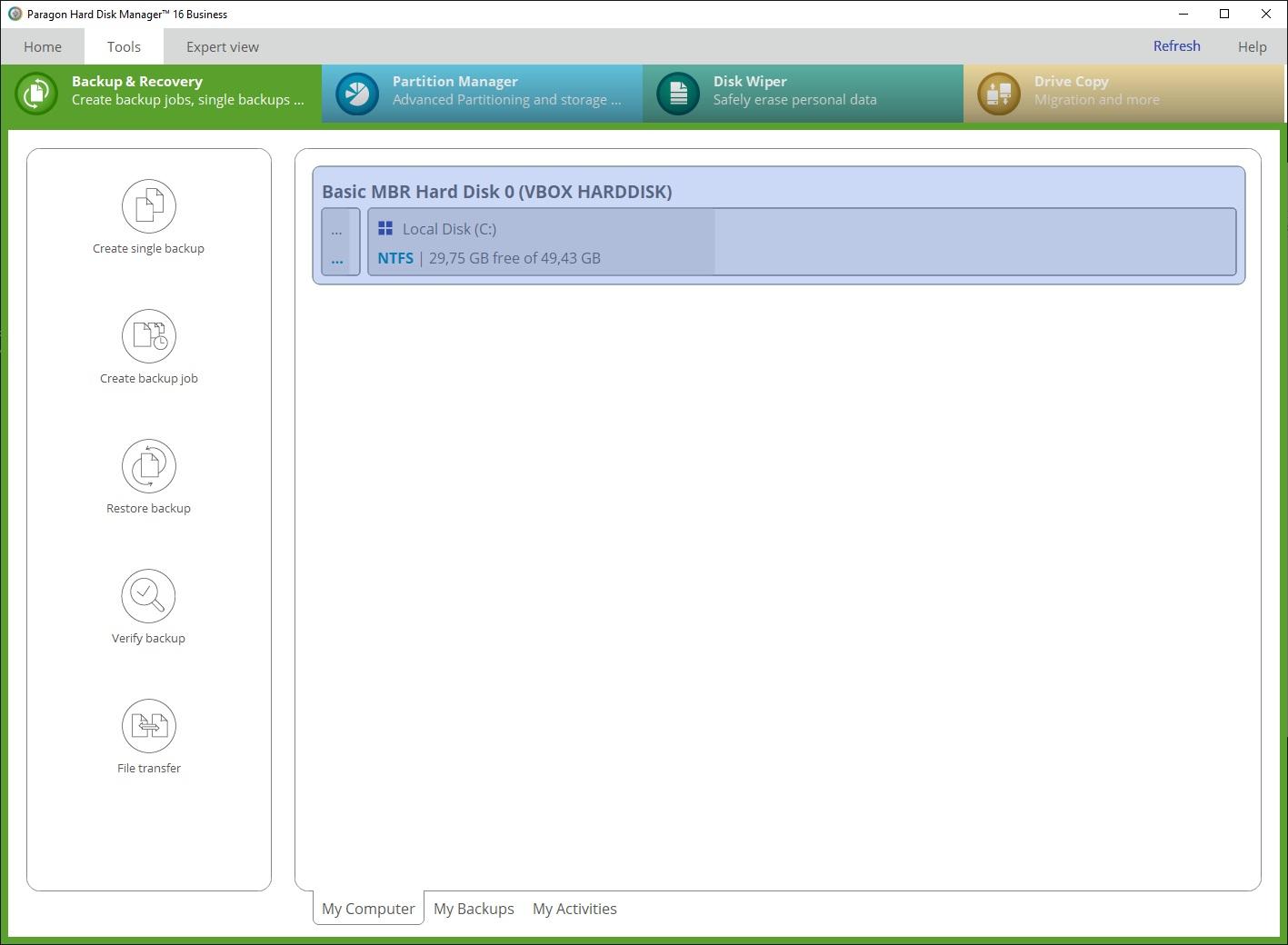 Paragon Hard Disk Manager 16 Business v16.20.1   WinPE - ENG