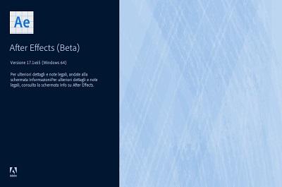 Adobe After Effects 2020 v17.1.0.69 Beta 64 Bit - Ita