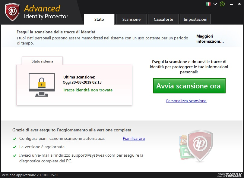 Advanced Identity Protector v2.1.1000.2620 - ITA