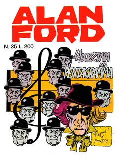 Alan Ford 035 - La dozzina del pentagramma (1972)