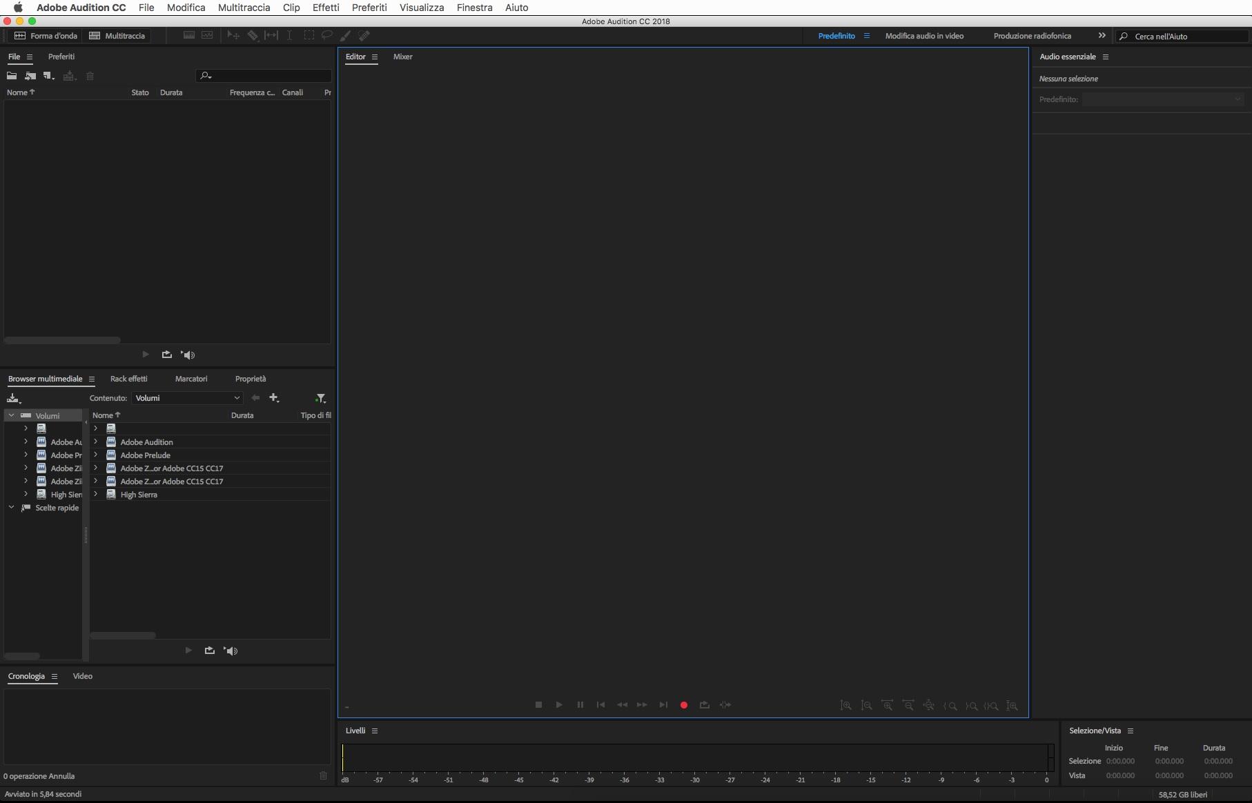 [MAC] Adobe Audition 2020 v13.0.0.519 macOS - ITA
