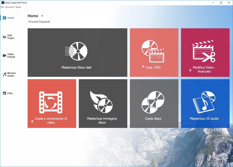 Corel Roxio Creator NXT Pro 6 v19.0.55.0 Build 190B55A   Content pack - ITA