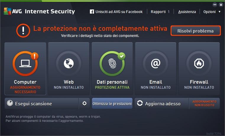 AVG Internet Security 2016 v16.61.7538 - ITA