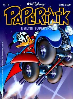 Paperinik e altri supereroi n. 16 (1995)