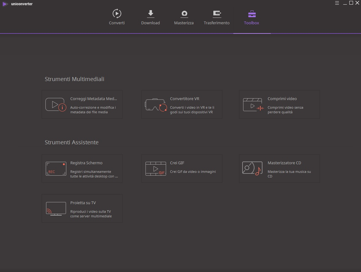 [PORTABLE] Wondershare UniConverter v11.5.0.16 Portable - ITA