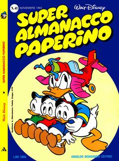 Super Almanacco Paperino II Serie n.41 (Mondadori 1983-11)