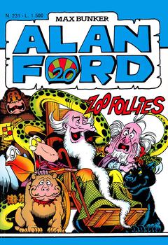 Alan Ford 231 - Zoo follies (1988)